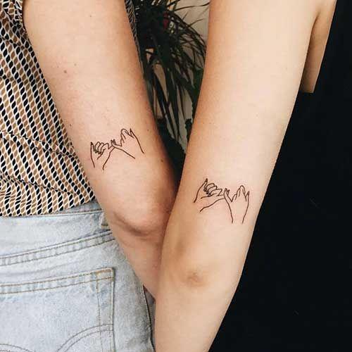 30 Fotos de Tatuagens de Irms Iguais Frases Pequenas Tatoo