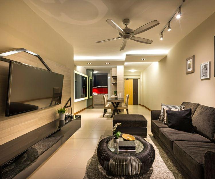 Kleine Wohnung einrichten \u2013 22 Ideen, die Platz sparen Innendesign