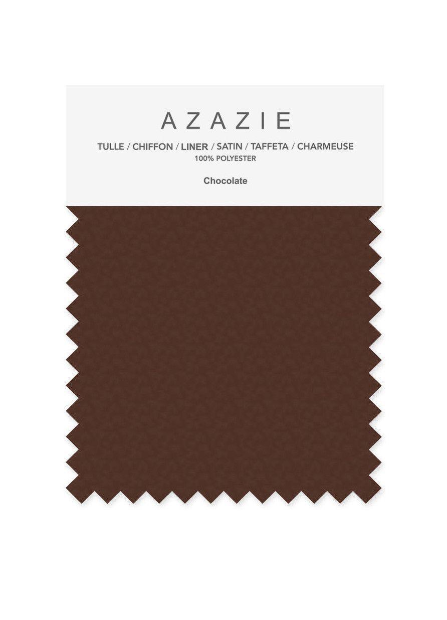 Azazie swatch colors fabrics bridesmaid dress wedding