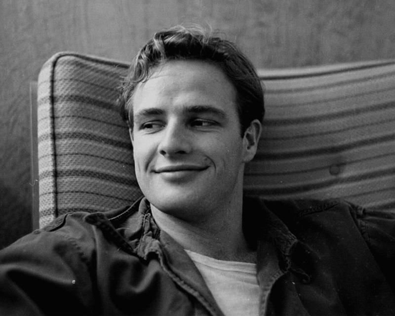"""Regret is useless in life. It's in the past. All we have is now."" Happy birthday Marlon Brando, born April 3."