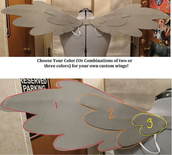 40 INCH - Cosplay Wings - Custom Color - My Little Pony: Friendship is Magic