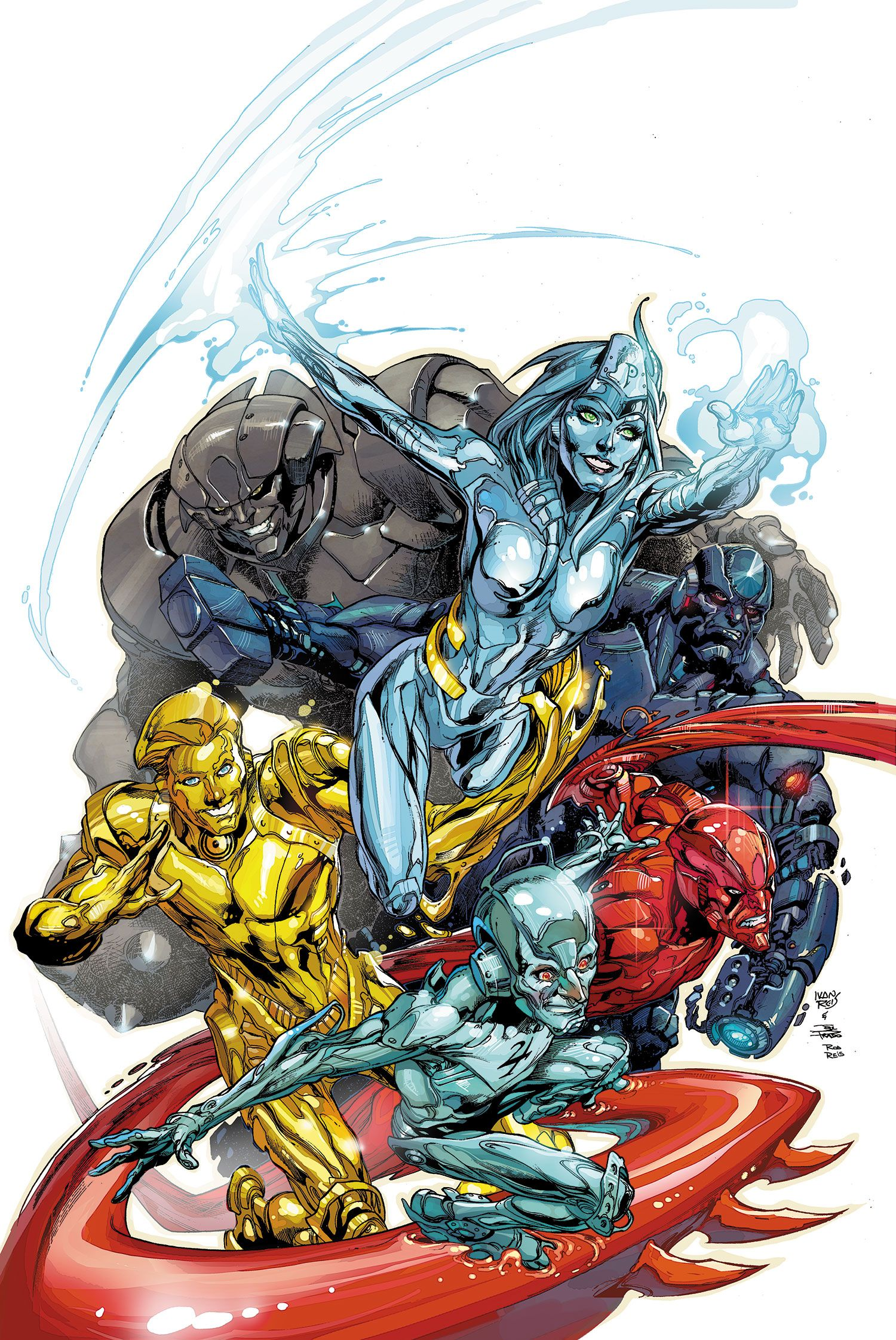 Metal Men (Prime Earth) | Metals, Comic and Justice league