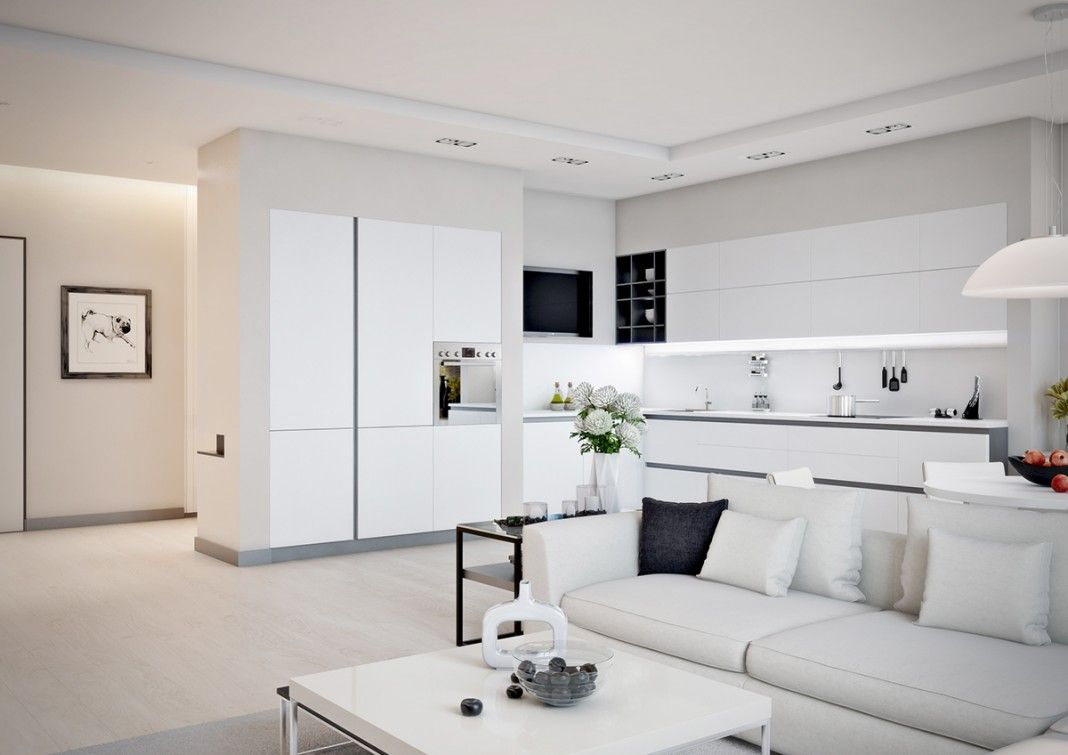 Small Apartment Design For Couples With White Color Scheme Ideas Apartment Design Apartment Interior Design Apartment Bedroom Decor