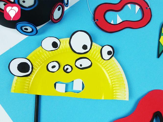 Helau! So kannst Du 5 einfache Masken basteln | Monstermäßiger Spaß ...