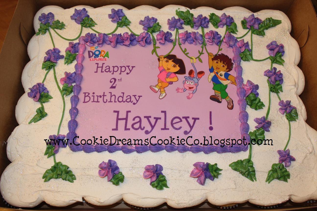 Remarkable Dora Cupcake Cake Dora Cupcakes Dora Cake Cupcake Cakes Birthday Cards Printable Benkemecafe Filternl