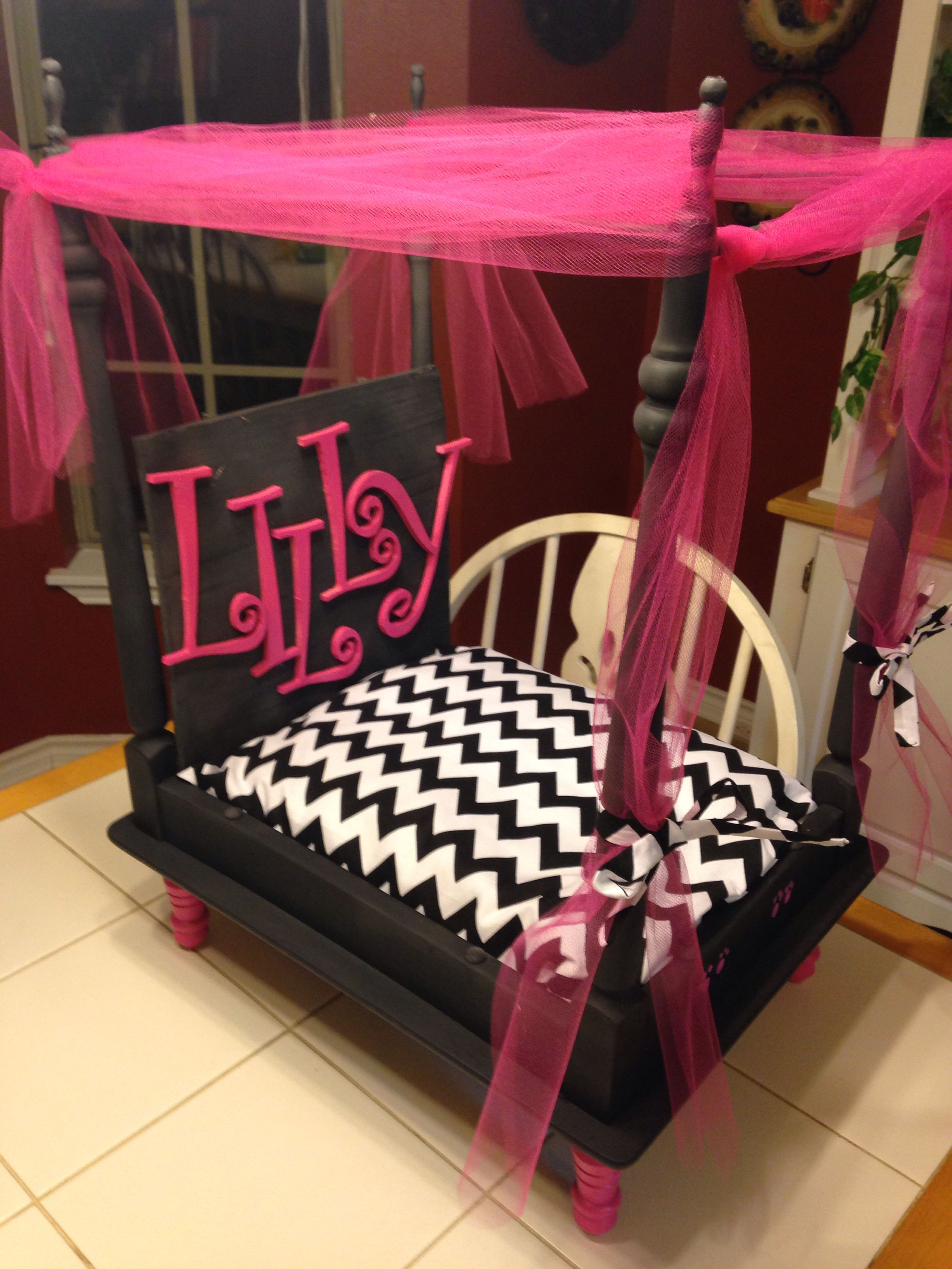 Canopy dog bed. Dog Items Pinterest Dog beds, Canopy