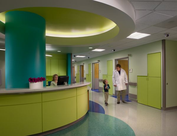 Childrenu0027s Healthcare Of Atlanta By Architect Stanley Beaman + Sears. Interior  Design Features And Color