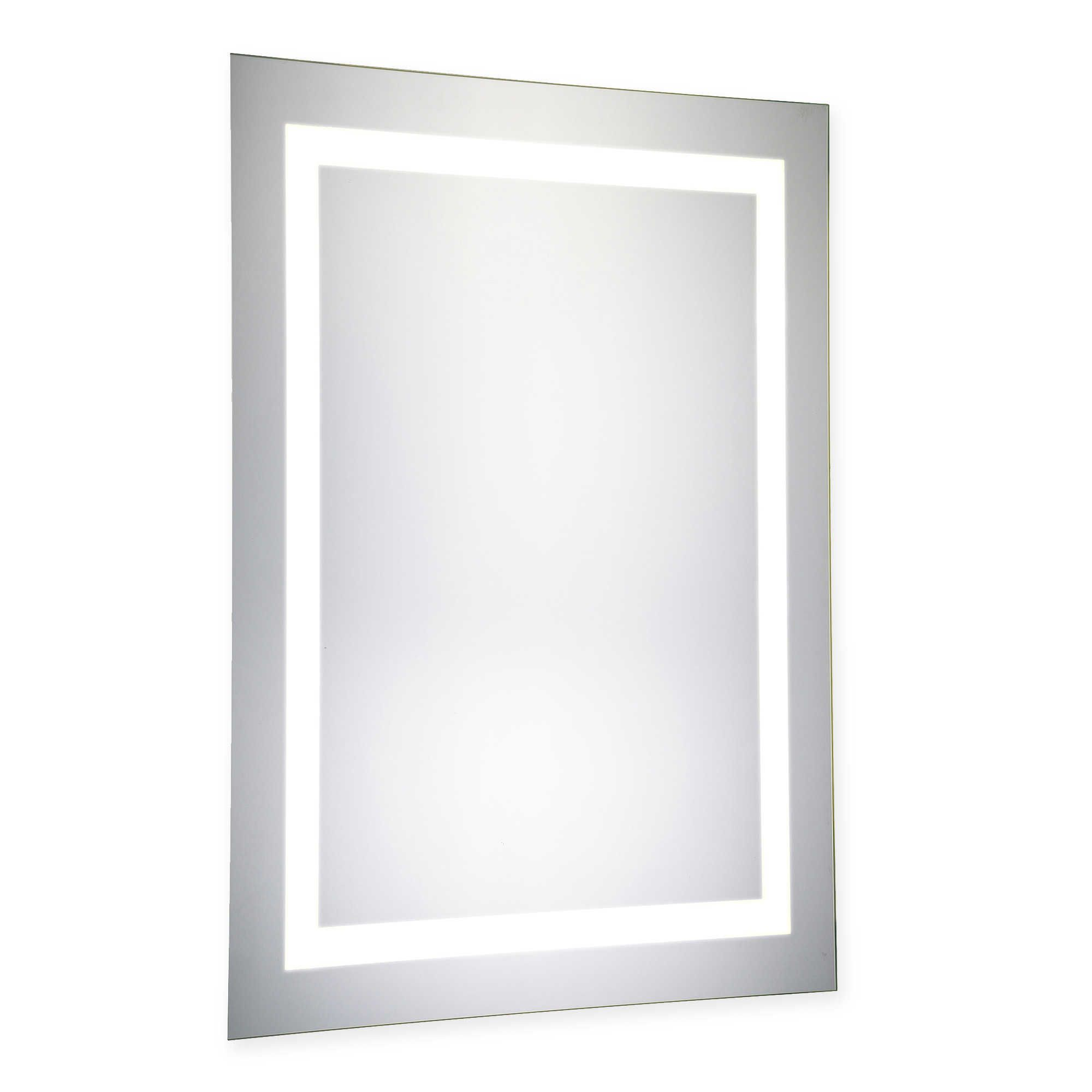 20-Inch x 40-Inch LED Lighted Mirror | Guest bathroom | Pinterest ...