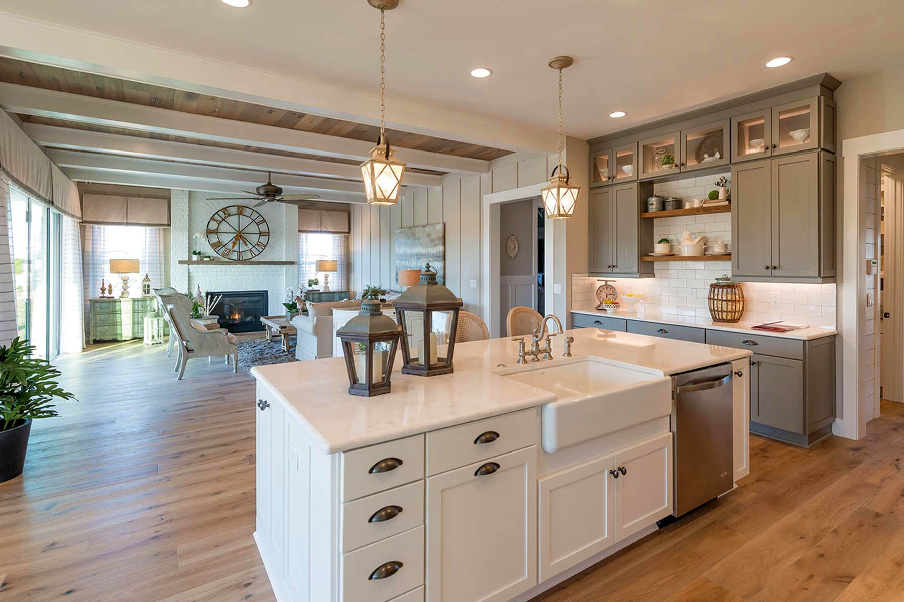 These New Homes In St Johns County Offer Up The Latest In Livability And Architecture From Florida Bungalow T Home Decor Kitchen Kitchen Remodel Home Kitchens