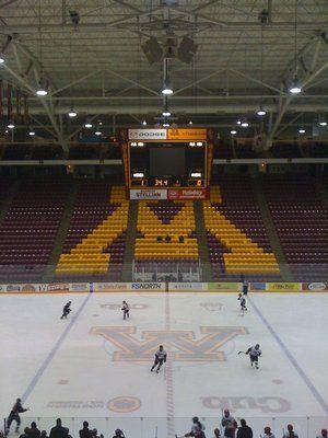 Mariucci Arena Mn Gophers Ice Rink Minnesota