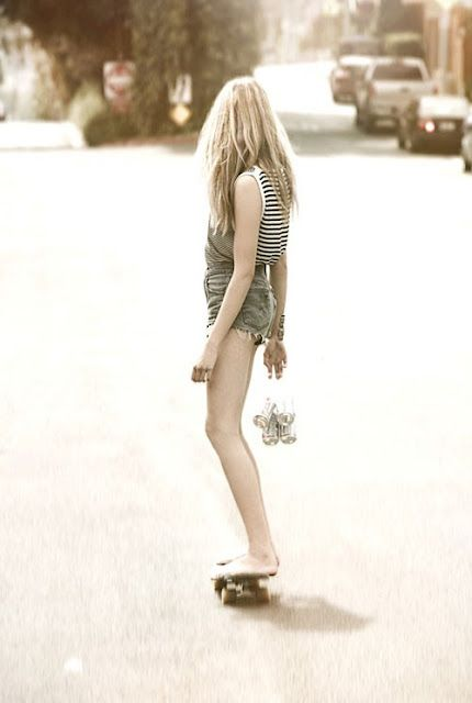 learn to longboard (without shoes)
