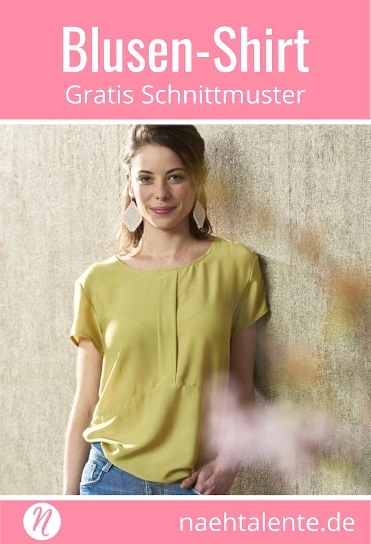 Top oder Blusenshirt - Urlaubskoffer | Pinterest | Damenblusen ...