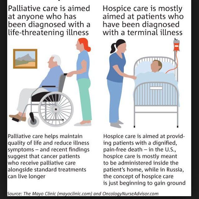 Infographic Describing What Palliative Care Is Cuidados