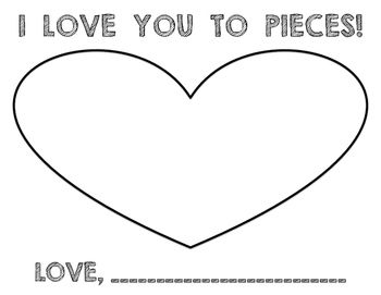 Sassy image in love you to pieces printable