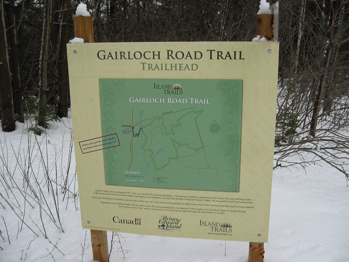 Gairloch Road Trail - Beautiful Trail in Eastern PEI
