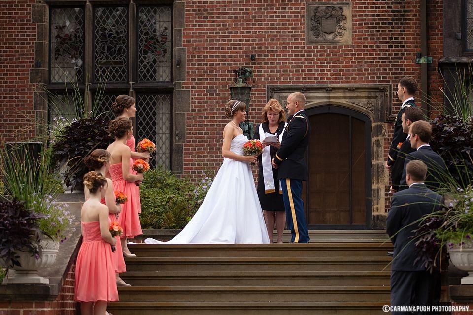 Sara John Wedding At Stan Hywet Hall And Gardens Ohio Wedding Wedding Wedding Dresses