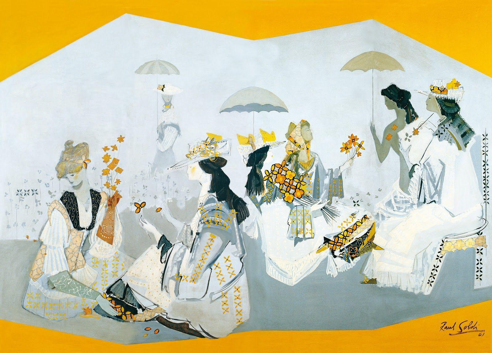 Ra L Soldi Primavera Pintura Argentina Pinterest Primavera  # Muebles Gepetto Mora