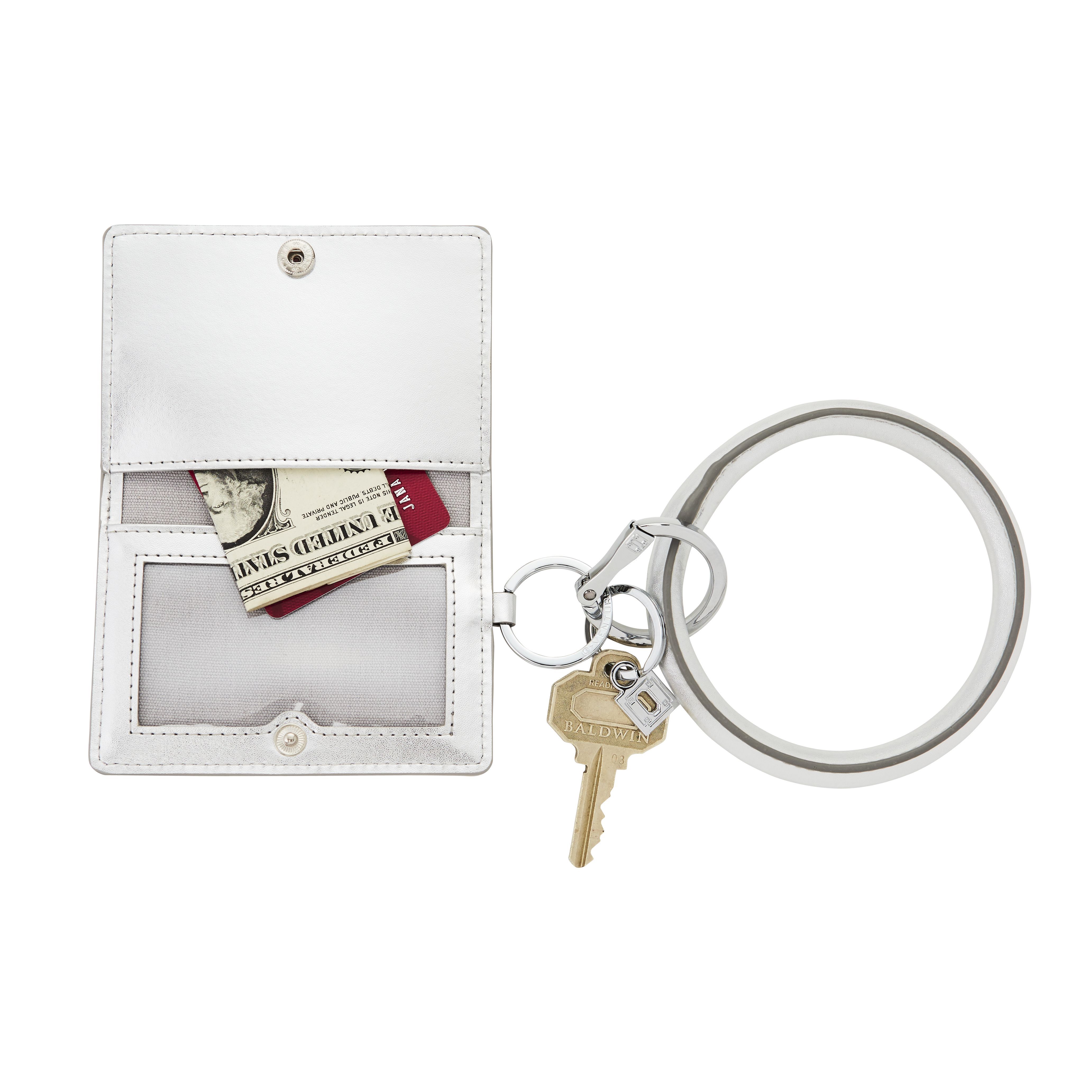 6a2a1b27d42b O-venture white Big O Key Ring and pouch / card case - Best Christmas Gifts  2017, key holders and key rings - Oprah's favorite product of 2014