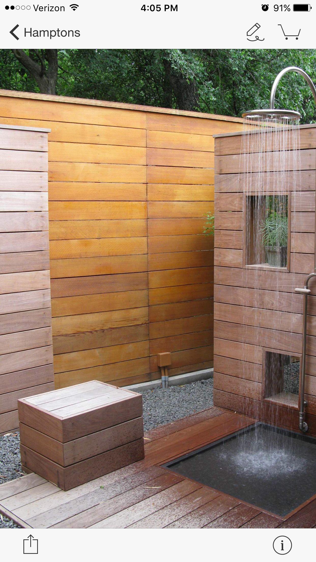 Outdoor Shower Gartendusche Aussendusche