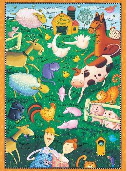 Old McDonald's Farm 36 Piece Puzzle * This is an Amazon Affiliate link. You can find more details by visiting the image link.