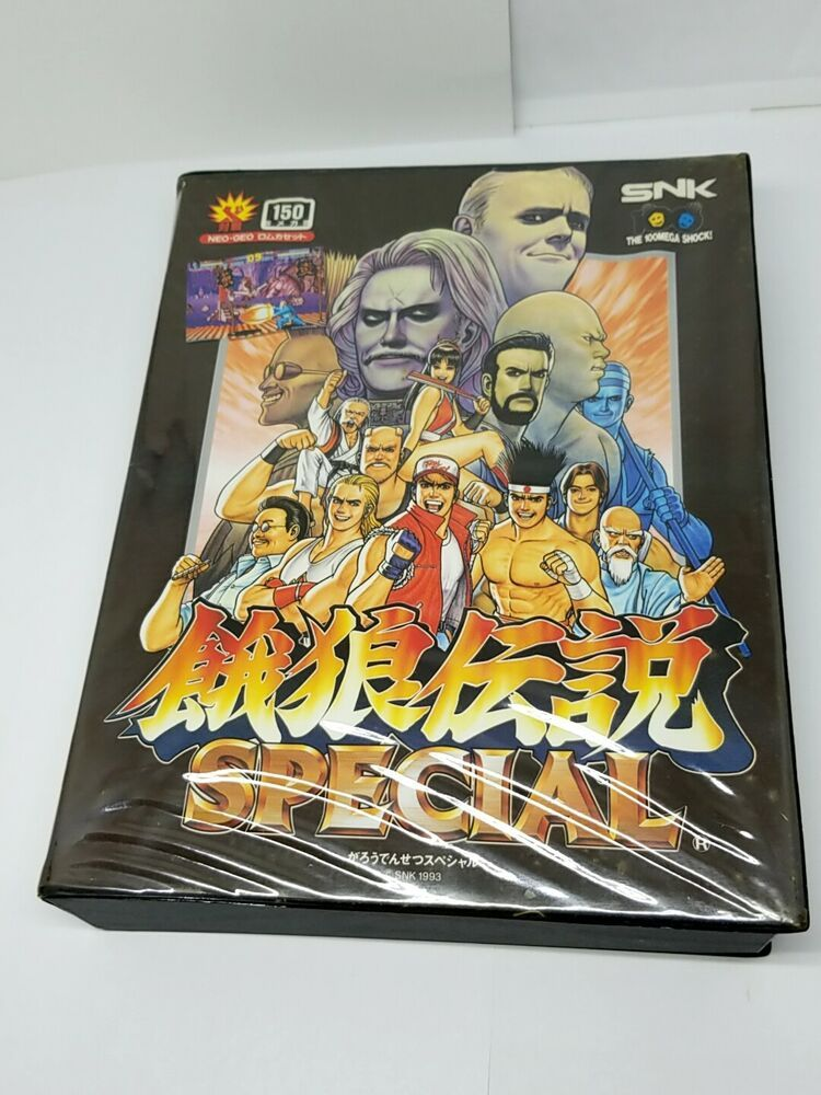 Snk Neo Geo Aes Game Fatal Fury Special Japan 0926a19 Snk
