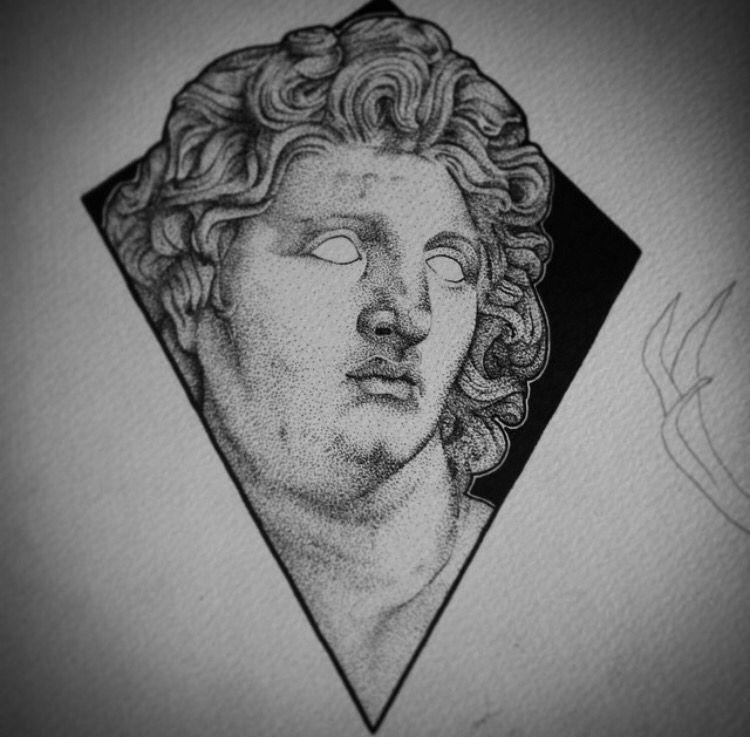 5e36e73ec Alexander the Great tattoo @vatiss | tats | Great tattoos, Tattoos ...