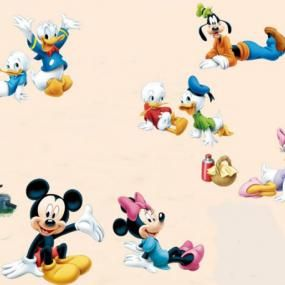 Mickey mouse and friends wall stickers (ABC1030)