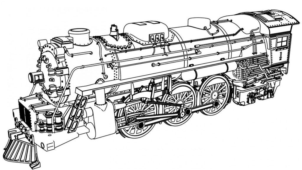 Train Coloring Pages Train Coloring Pages Coloring Pages Winter