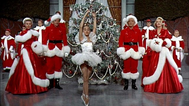Rosemary,Clooney,1,Vera,Ellen,1 in White Christmas costumes