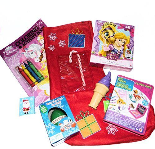 Toy Stuffed Christmas Stocking Gift with Palace Pets Princess Puzzle, Art Kit, Bubbles, Stickers, Princess Coloring Book with Crayons and Holiday Hatch Em Animal Egg Thundles http://www.amazon.com/dp/B016LEZ986/ref=cm_sw_r_pi_dp_q3Kzwb0SMKKT9