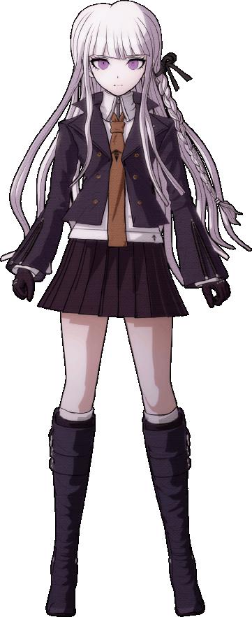Kyoko Kirigiri Character Designs Danganronpa