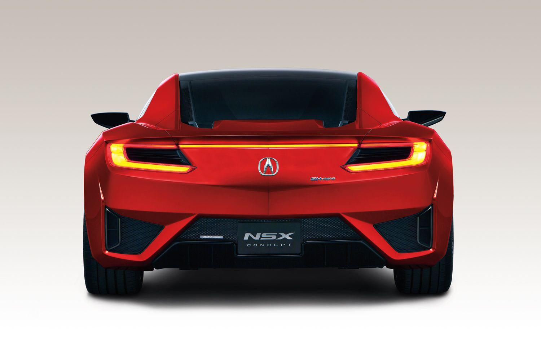 2015 Acura Nsx Desktop Wallpaper Carros
