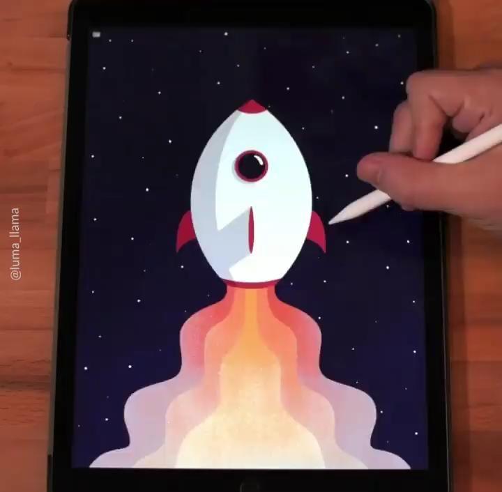 Illustrator of cute things Procreate Art