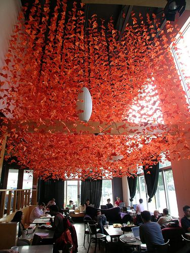 Incredible origami installation #Design