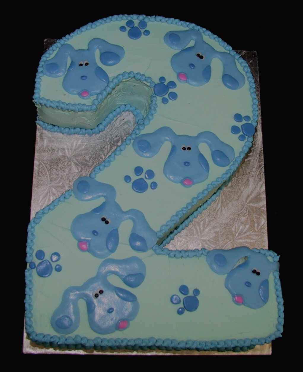blues clues 2 cake brought to you by the letter m pinterest
