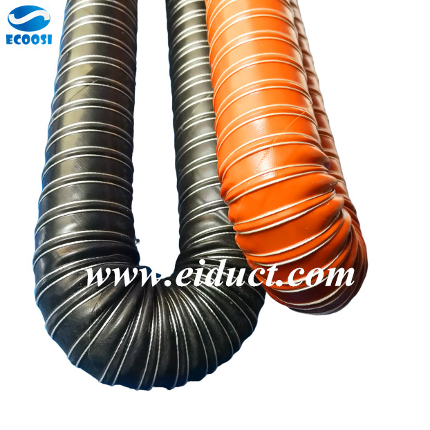 Silicone Ducting Flexible duct, Hot air, Hose
