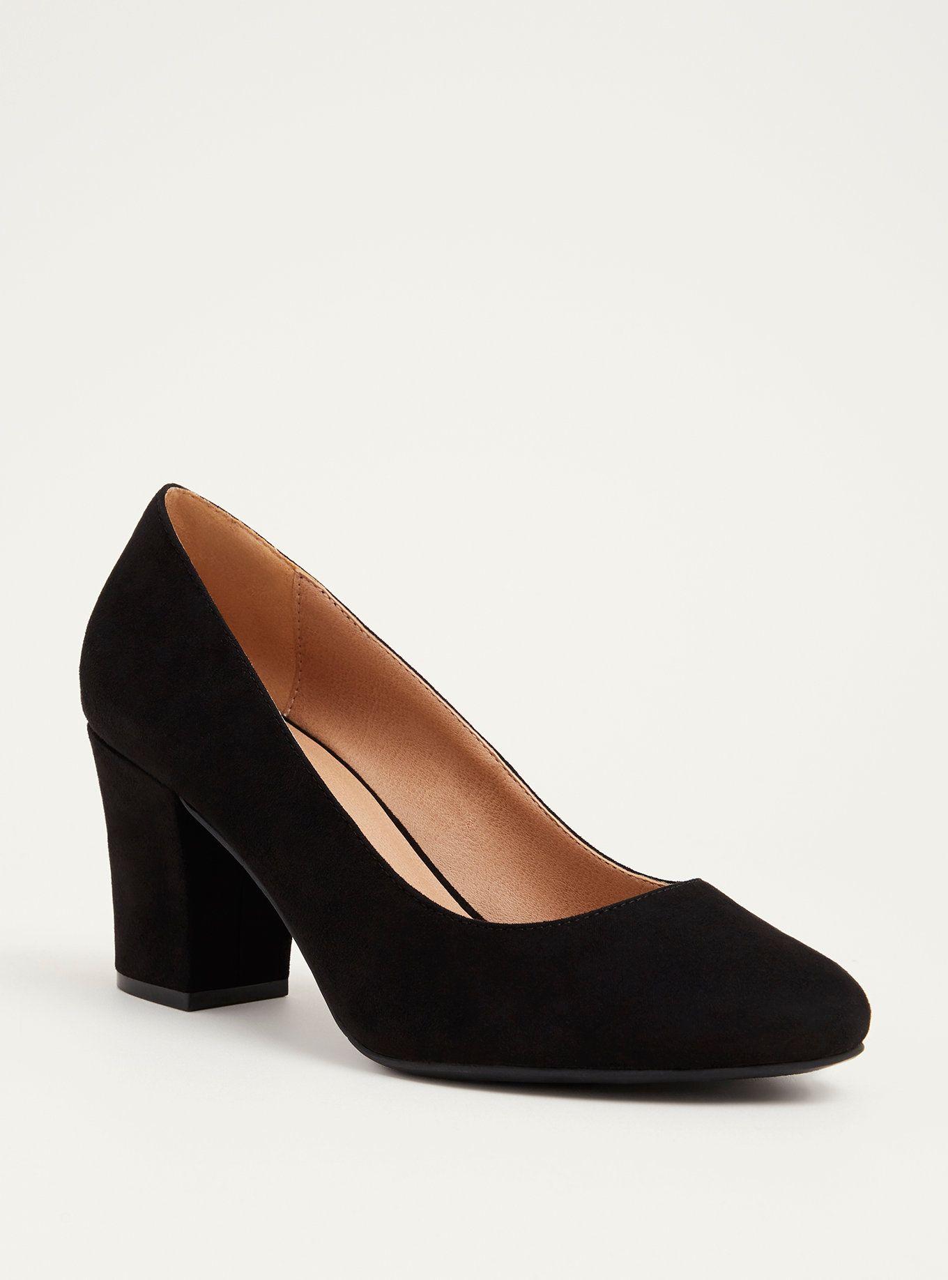 Almond Toe Pumps (Wide Width) | Heels