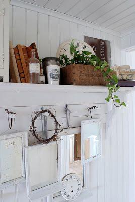 Vita Ranunkler: I vårat hus
