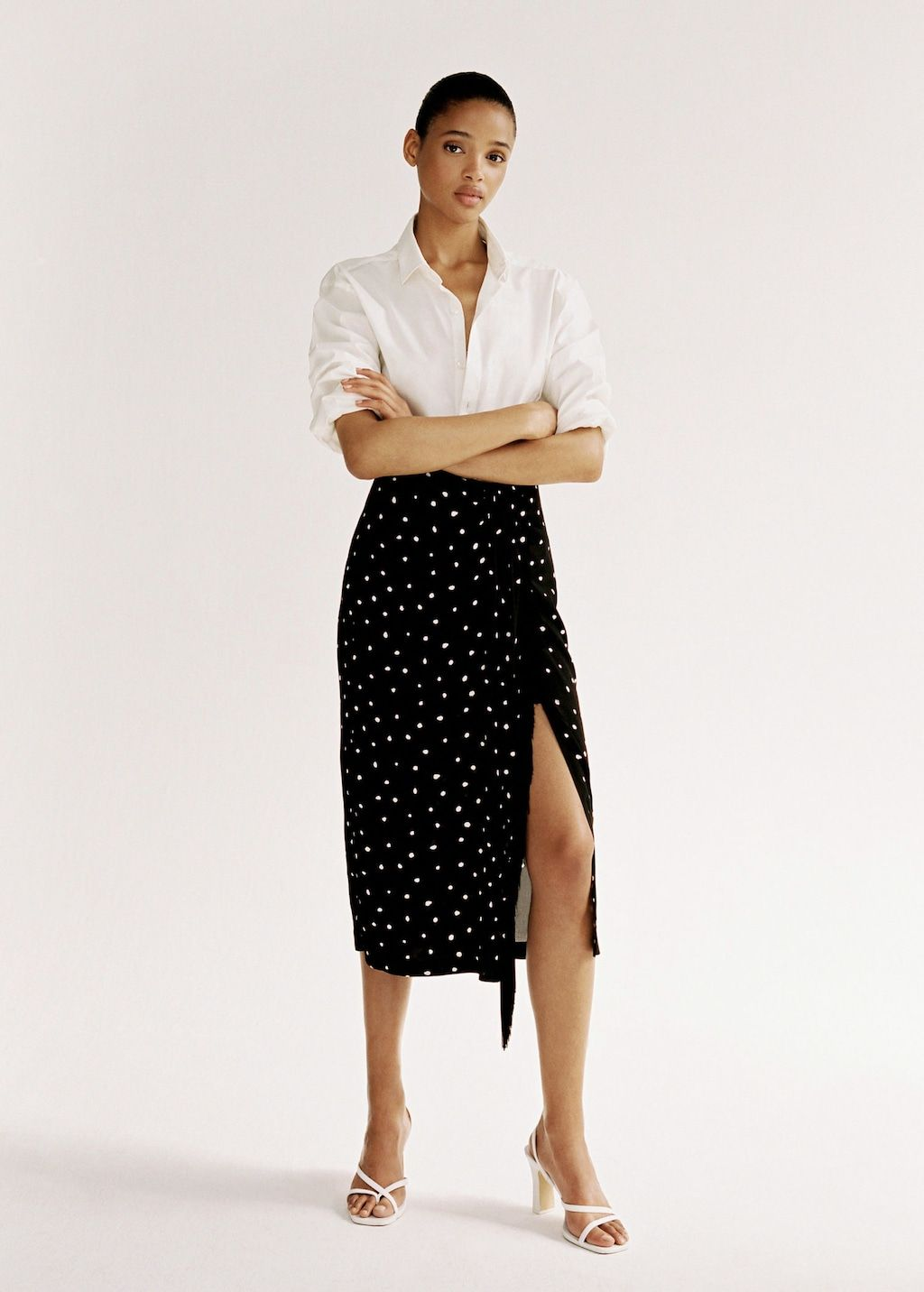 f059a0abbb Fringed detail polka-dot skirt - Women in 2019 | New Arrivals ...