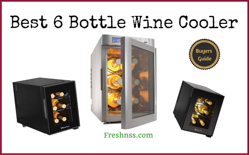 7 Best 6 Bottle Wine Cooler Plus 1 To Avoid 2020 Buyers Guide