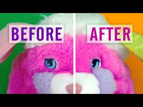 12 How To Fix Stuffed Animal Fur From Dryer Damage And More Youtube Sewing Stuffed Animals Clean Stuffed Animals Animal Fur