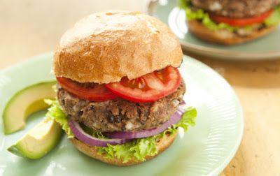 Black Bean Burger Recipe ~Heart Healthy