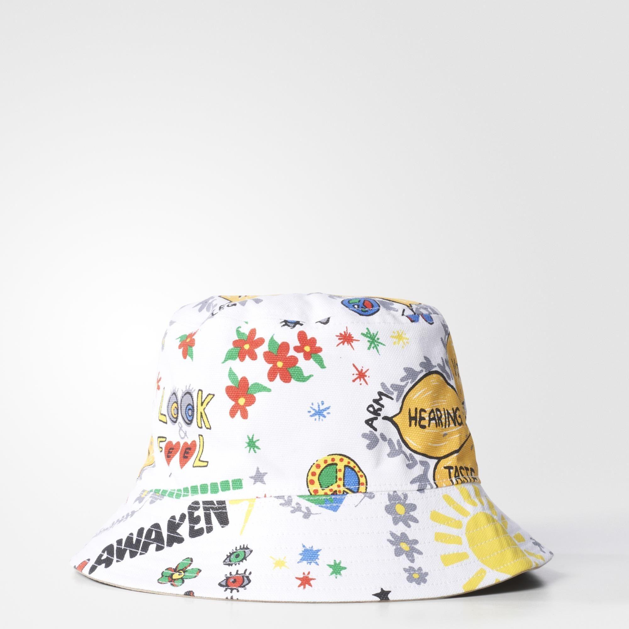 adidas - Pharrell Awaken Bucket Hat | Things I Desire | Pinterest