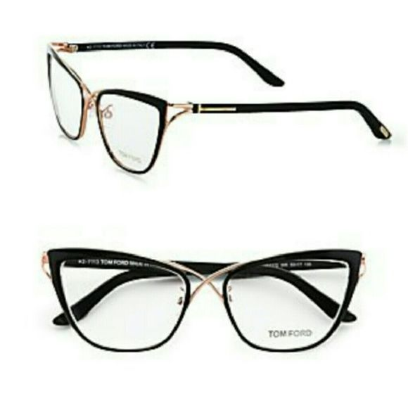 84ddae61b3b8 Tom Ford Accessories - Tom Ford 5272 Crossover Cat-Eye Frames- NEW ...
