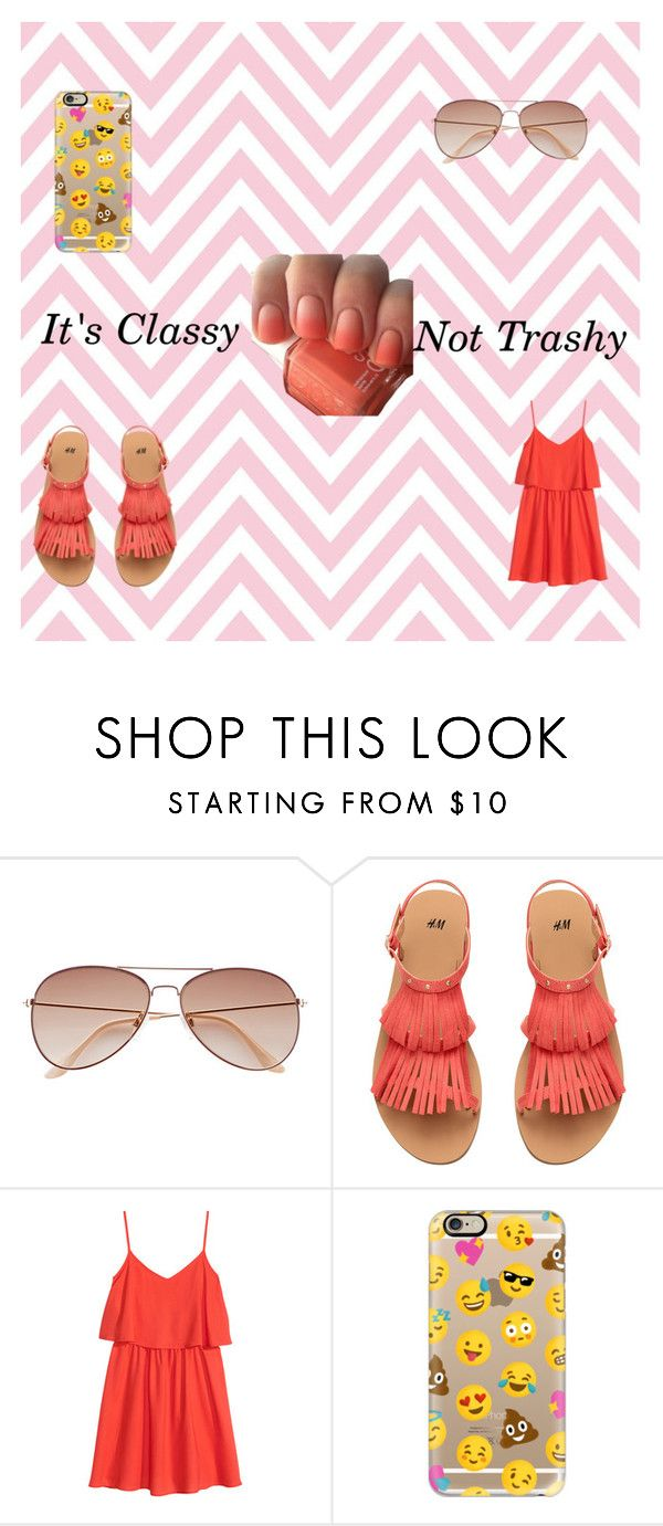 """""""It's Classy Not Trashy"""" by starchelle0914 on Polyvore featuring H&M and Casetify"""