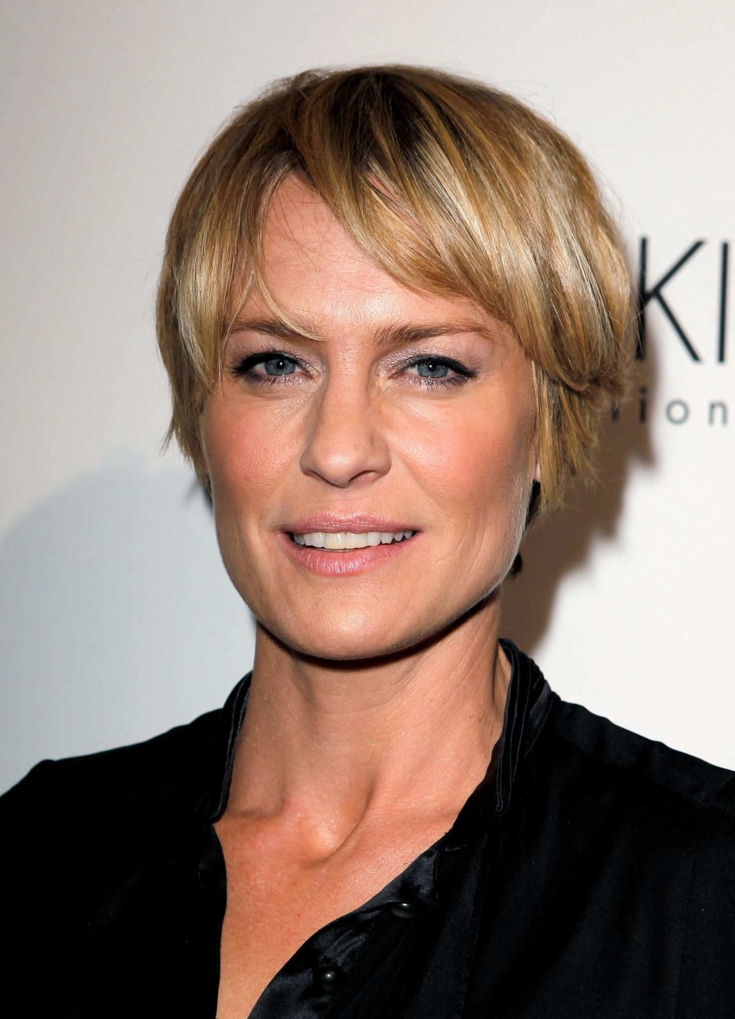 Claire Underwood Hair Robin Wright Hair Cuts Short Hair Styles