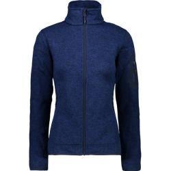 Photo of Cmp Damen Unterjacke Knitted Melange Fleece Woman Jacket, Größe 48 In Marine, Größe 48 In Marine F.l