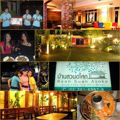 Baan Suan Asoke 4star Thai In Sukhumvit Thaibis Achiever Bangkok Thai Restaurant Thai