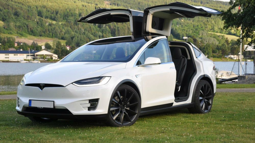 Would you hire this as your Wedding Car? Brand New Tesla X
