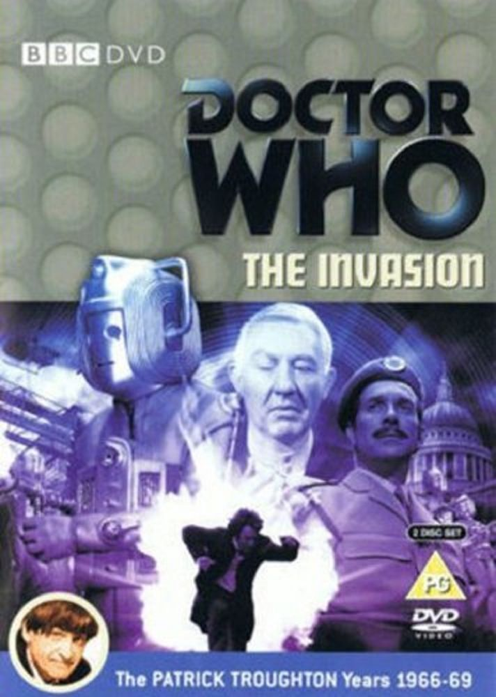 Doctor Who DVD Cult TV Series The Invasion 2 Disc Region 2 SCI-FI Pat Troughton